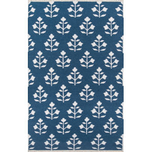 Thompson Grove Navy Rectangular: 7 Ft. 6 In. x 9 Ft. 6 In. Rug
