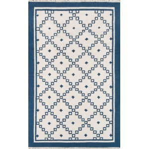 Thompson Langley Navy Rectangular: 7 Ft. 6 In. x 9 Ft. 6 In. Rug
