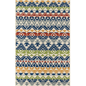 Veranda Multicolor Rectangular: 5 Ft. x 8 Ft. Rug