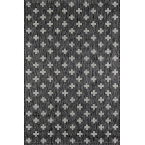 Villa Umbria Charcoal Rectangular: 7 Ft. 10 In. x 10 Ft. 10 In. Rug