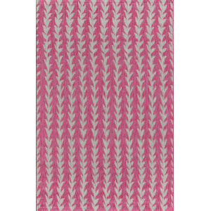 Villa Amalfi Fuschia Rectangular: 9 Ft. 3 In. x 12 Ft. 6 In. Rug