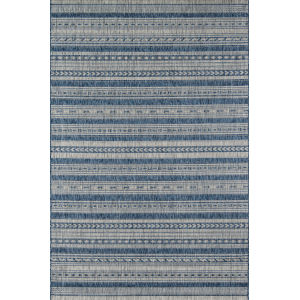 Villa Tuscany Blue Rectangular: 7 Ft. 10 In. x 10 Ft. 10 In. Rug