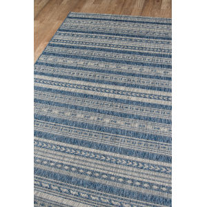 Villa Tuscany Blue Rectangular: 9 Ft. 3 In. x 12 Ft. 6 In. Rug