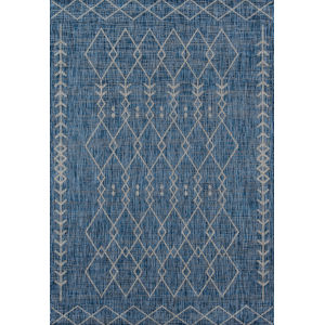 Villa Monaco Blue Rectangular: 9 Ft. 3 In. x 12 Ft. 6 In. Rug