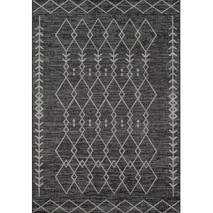 Villa Monaco Charcoal Rectangular: 3 Ft. 3 In. x 5 Ft. Rug