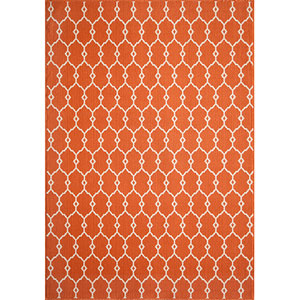 Baja Orange Rectangular: 5 Ft. 3 In.  X 7 Ft. 6 In. Rug