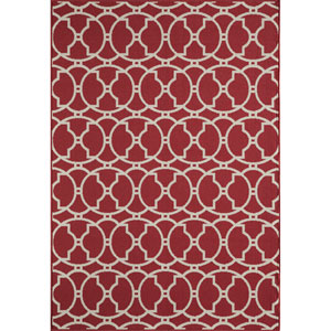 Baja Red Rectangular: 1 Ft 8 in x 3 Ft 7 in Rug