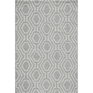 Bliss Grey Rectangular: 8 Ft x 10 Ft Rug