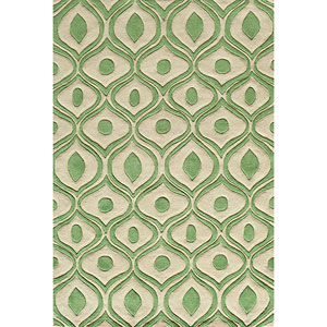 Bliss Green Rectangular: 5 Ft. x 7 Ft. 6 In. Rug Rug