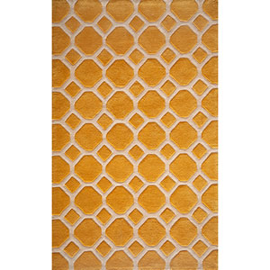 Bliss Gold Rectangular: 5 Ft. x 7 Ft. 6 In. Rug Rug