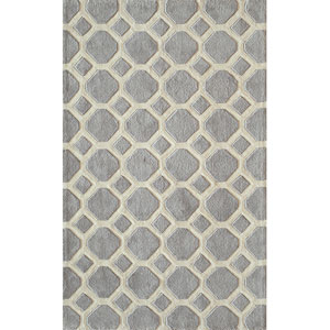 Bliss Grey Rectangular: 5 Ft. x 7 Ft. 6 In. Rug Rug