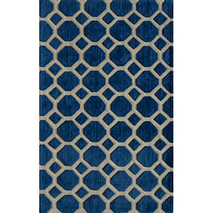 Bliss Navy Rectangular: 5 Ft. x 7 Ft. 6 In. Rug Rug