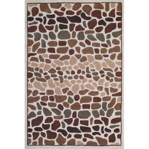 Bliss Sand Rectangular: 5 ft. x 7 ft. 6 in. Rug