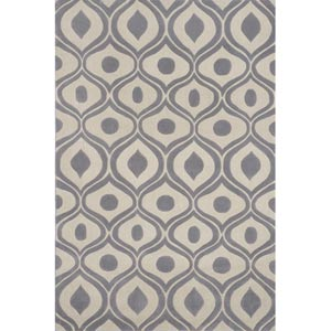 Bliss Gray Rectangular: 5 ft. x 7 ft. 6 in. Rug