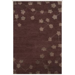 Chelsea Plum Rectangular: 5 ft. x 8 ft. Rug