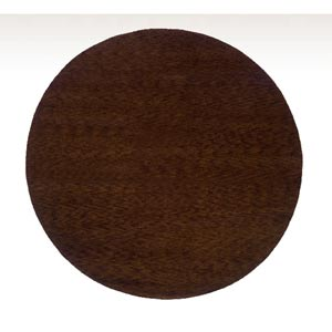 Desert Gabbeh Brown Round: 8 ft. x 8 ft. Rug