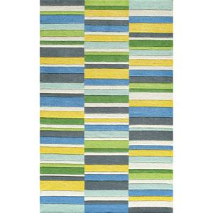 Delhi Blue Rectangular: 3 Ft 6 in x 5 Ft 6 in Rug