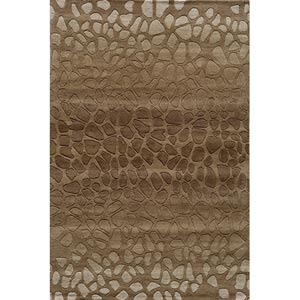 Delhi Brown Rectangular: 5 ft. x 8 ft. Rug