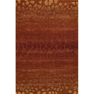 Delhi Paprika Rectangular: 5 ft. x 8 ft. Rug