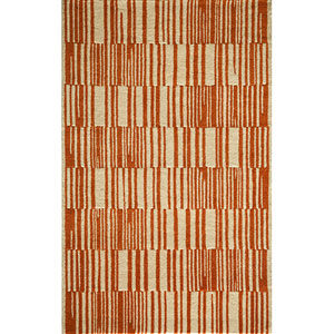 Delhi Orange Rectangular: 5 Ft. x 8 Ft. Rug Rug