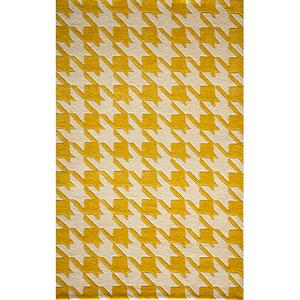 Delhi Yellow Rectangular: 5 Ft. x 8 Ft. Rug Rug