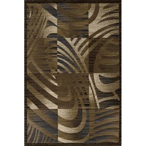Dream Brown Rectangular: 5 ft. 3 in. x 7 ft. 6 in. Rug