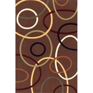 Elements Brown Rectangular: 5 Ft. x 8 Ft. Rug