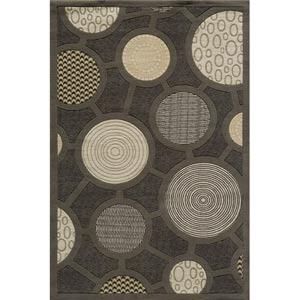 Elements Charcoal Rectangular: 5 ft. x 8 ft. Rug