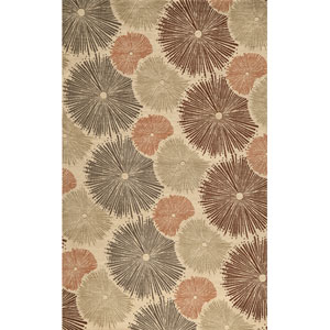 Elements 35 Multi-Color Rectangular: 9 ft. 6 in. x 13 ft. 6 in. Rug