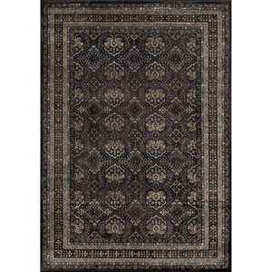 Encore 01 Charcoal Rectangular: 5 ft. 3 in. x 7 ft. 9 in. Rug