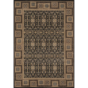 Encore 06 Charcoal Rectangular: 5 ft. 3 in. x 7 ft. 9 in. Rug