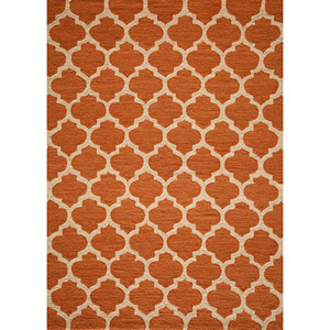 Geo Pumpkin Rectangular: 5 Ft. x 7 Ft. Rug Rug
