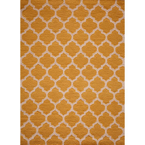 Geo Yellow Rectangular: 5 Ft. x 7 Ft. Rug Rug