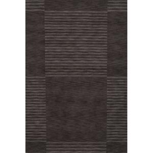 Gramercy Carbon Rectangular: 5 ft. x 8 ft. Rug