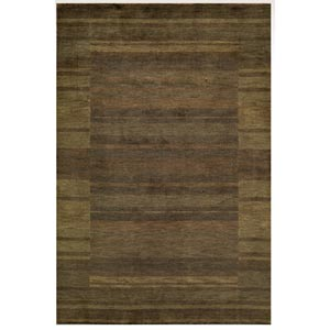 Gramercy Brown Rectangular: 5 ft. x 8 ft. Rug