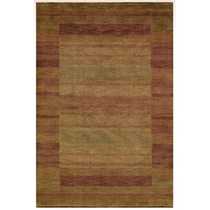 Gramercy Rust Rectangular: 5 ft. x 8 ft. Rug