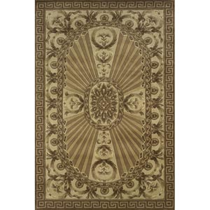 Harmony Light Brown Rectangular: 5 ft. x 8 ft. Rug