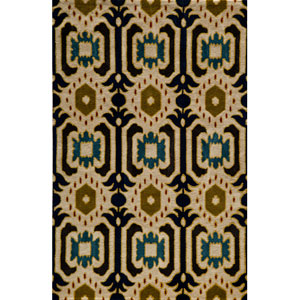 Habitat 01 Ivory Rectangular: 5 ft. x 8 ft. Rug