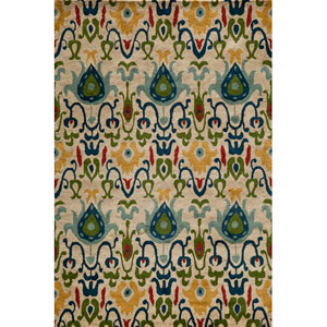 Habitat 05 Ivory Rectangular: 5 ft. x 8 ft. Rug