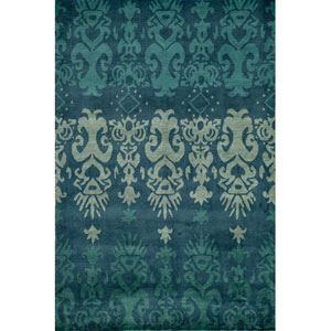 Habitat 06 Blue Rectangular: 5 ft. x 8 ft. Rug