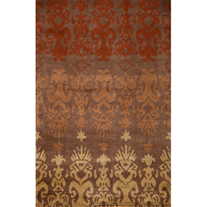 Habitat 06 Brown Rectangular: 5 ft. x 8 ft. Rug