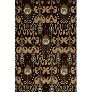 Habitat 07 Chocolate Rectangular: 5 ft. x 8 ft. Rug
