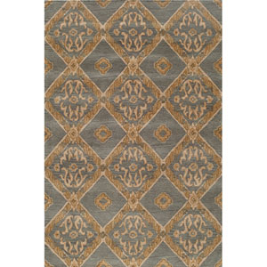 Habitat 13 Blue Rectangular: 5 ft. x 8 ft. Rug