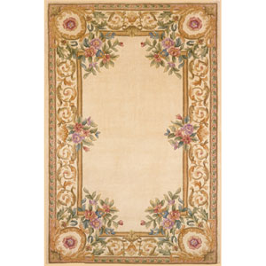 Harmony 07 Ivory Rectangular: 5 ft. x 8 ft. Rug