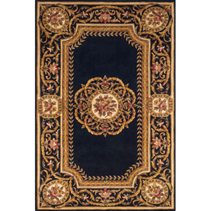 Harmony 12 Blue Rectangular: 5 ft. x 8 ft. Rug