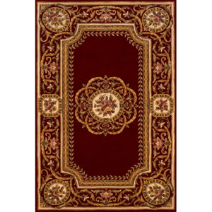 Harmony 12 Burgundy Rectangular: 5 ft. x 8 ft. Rug