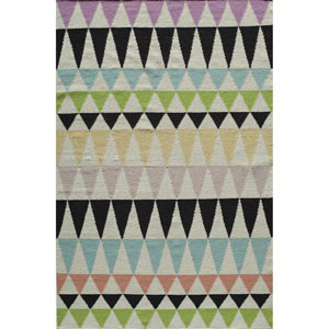 Laguna Multicolor Rectangular: 2 Ft x 3 Ft Rug
