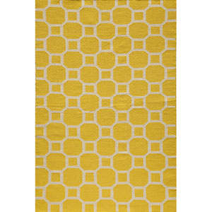 Laguna 01 Lemon Rectangular: 5 ft. x 8 ft. Rug