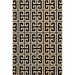 Laguna 05 Black Rectangular: 5 ft. x 8 ft. Rug