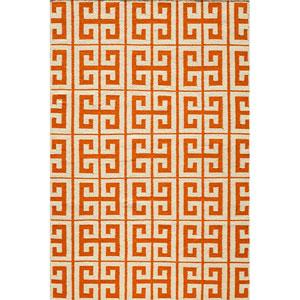 Laguna 05 Orange Rectangular: 5 ft. x 8 ft. Rug
